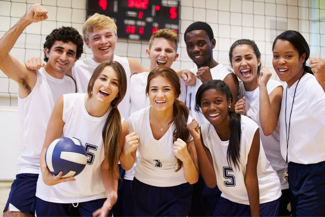 Volleyball High School Catholic Charities Diocese Of Cleveland